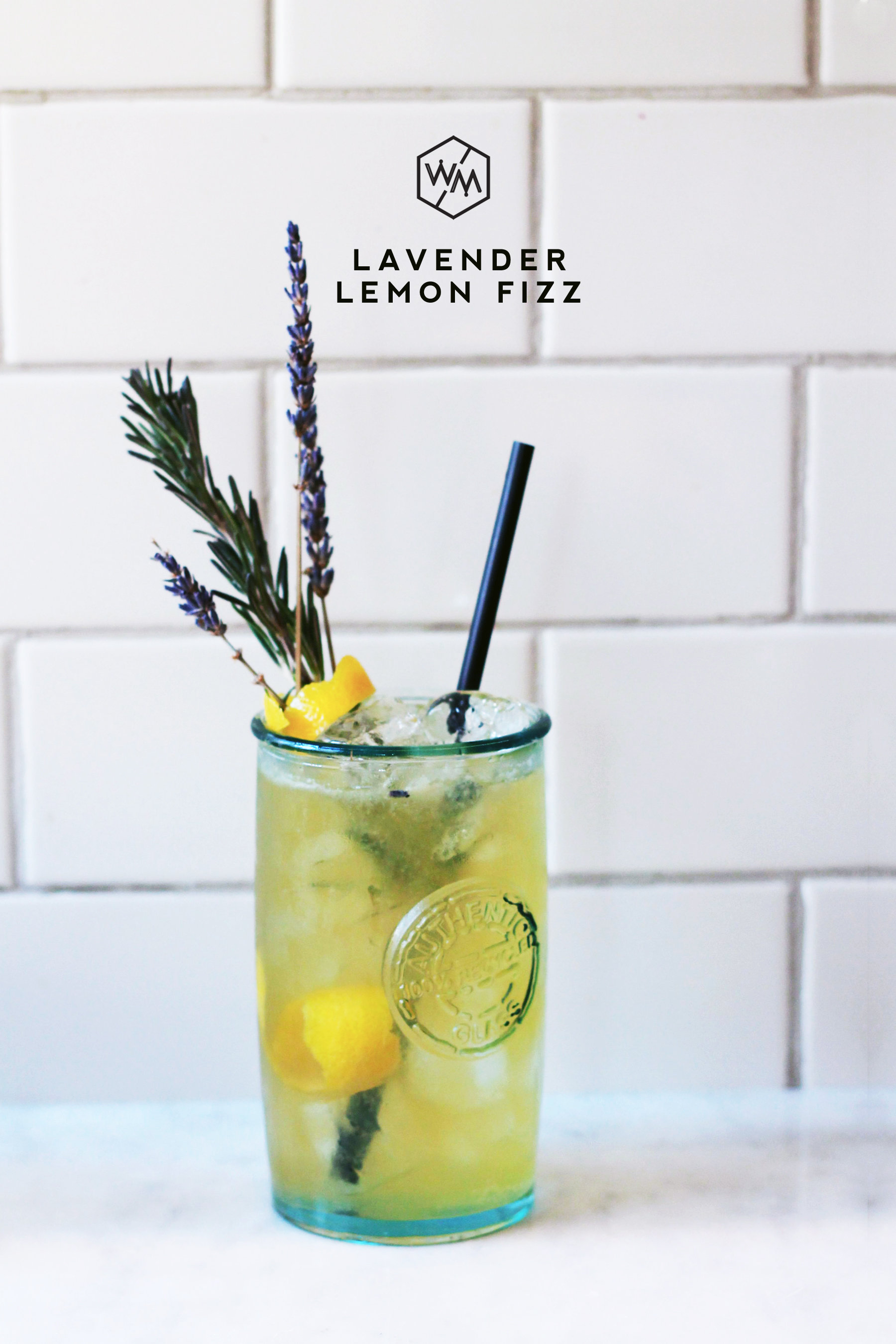 Lavender Lemon Fizz - Whiskey Muse