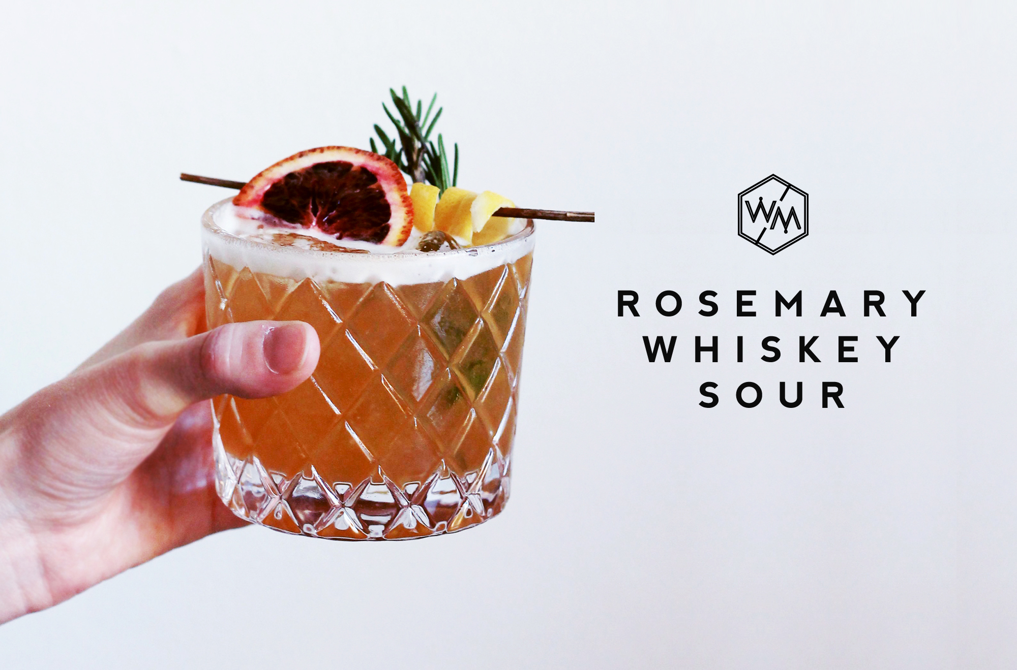 Rosemary Sour - Whiskey Muse