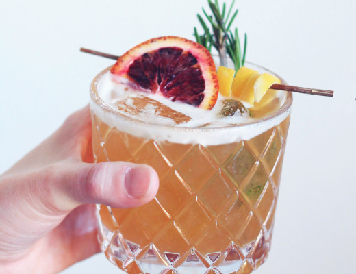 Rosemary Bourbon Sour - Whiskey Muse