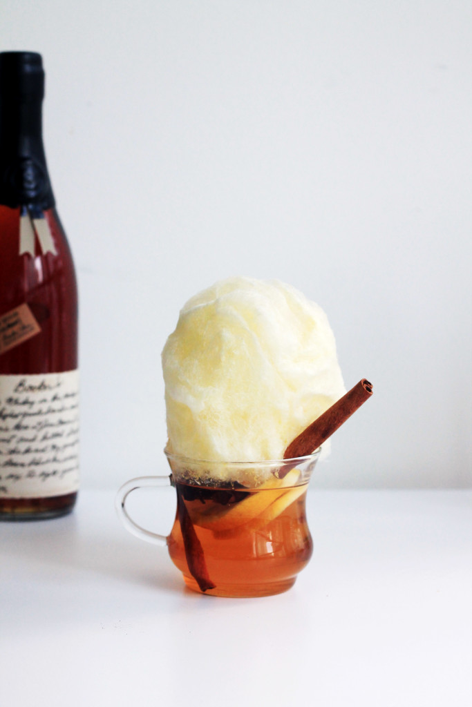 Cotton Candy Hot Toddy - Whiskey Muse