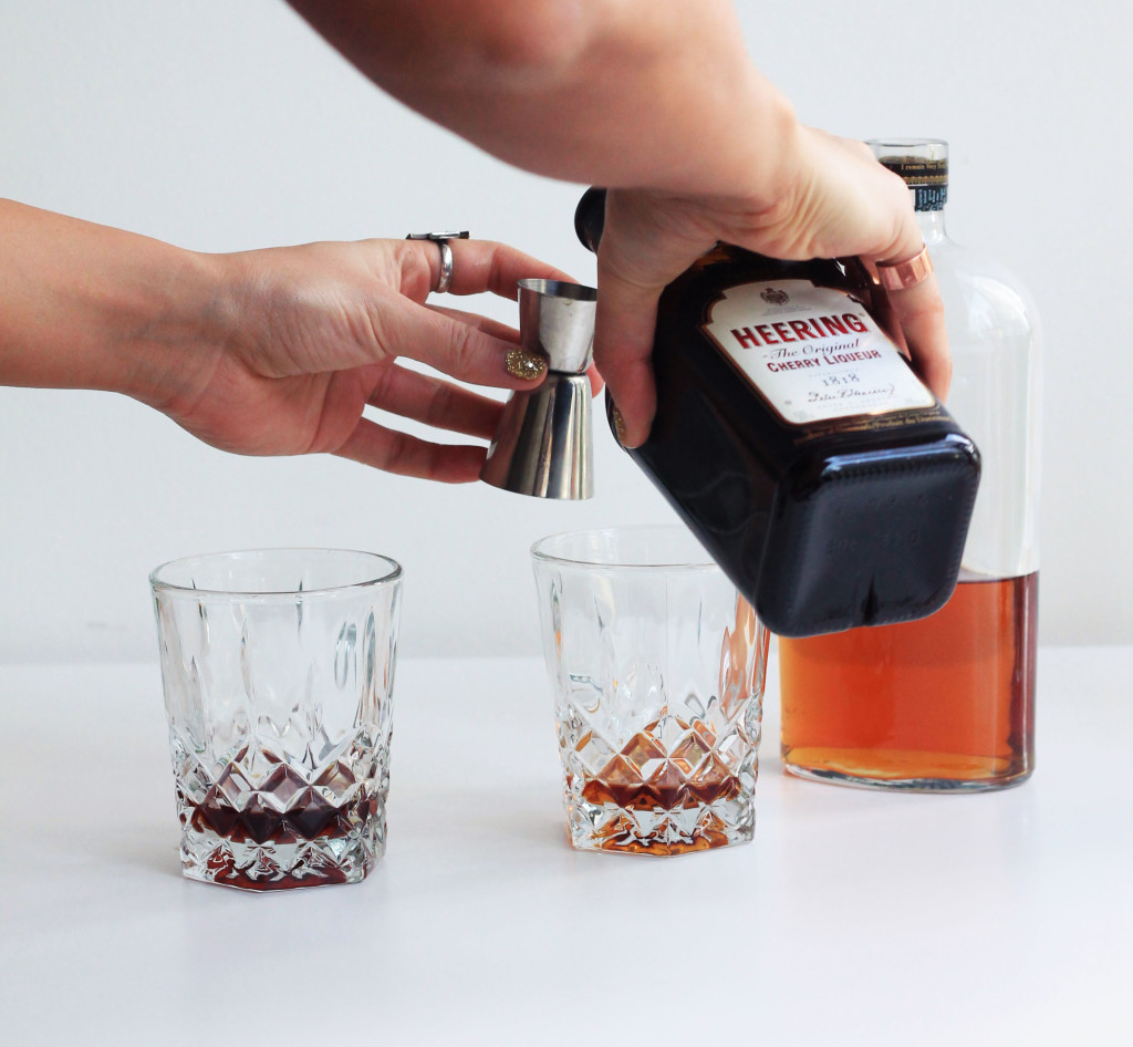 Chocolate Cherry Old Fashioned Cocktail - Whiskey Muse