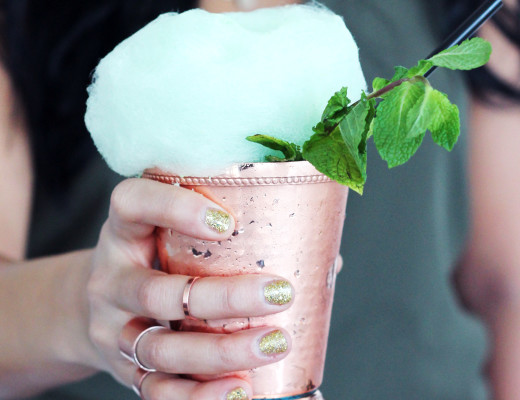 Chocolate Mint Julep - Whiskey Muse