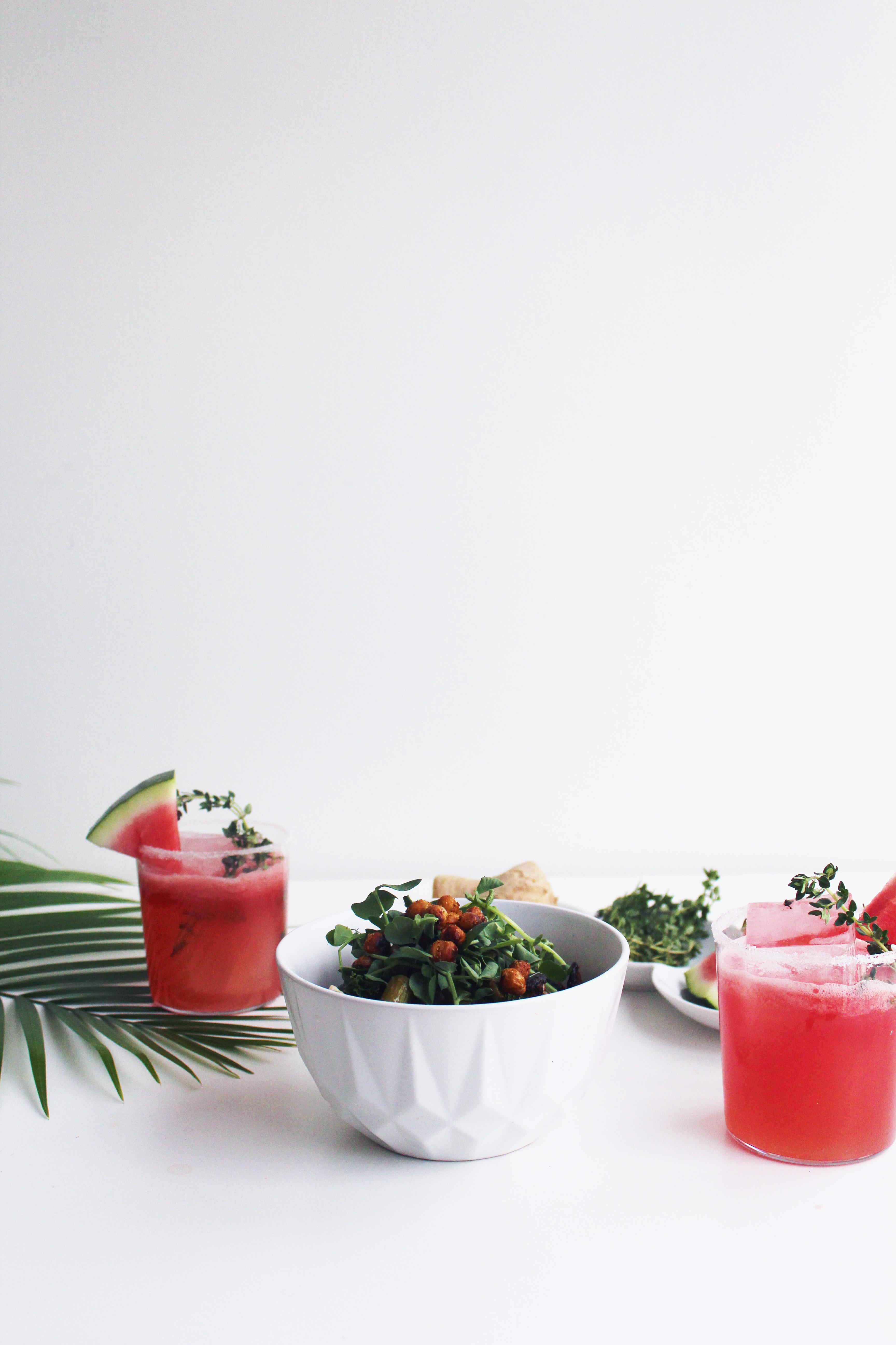 Watermelon Bourbon Fizz - The Whiskey Muse