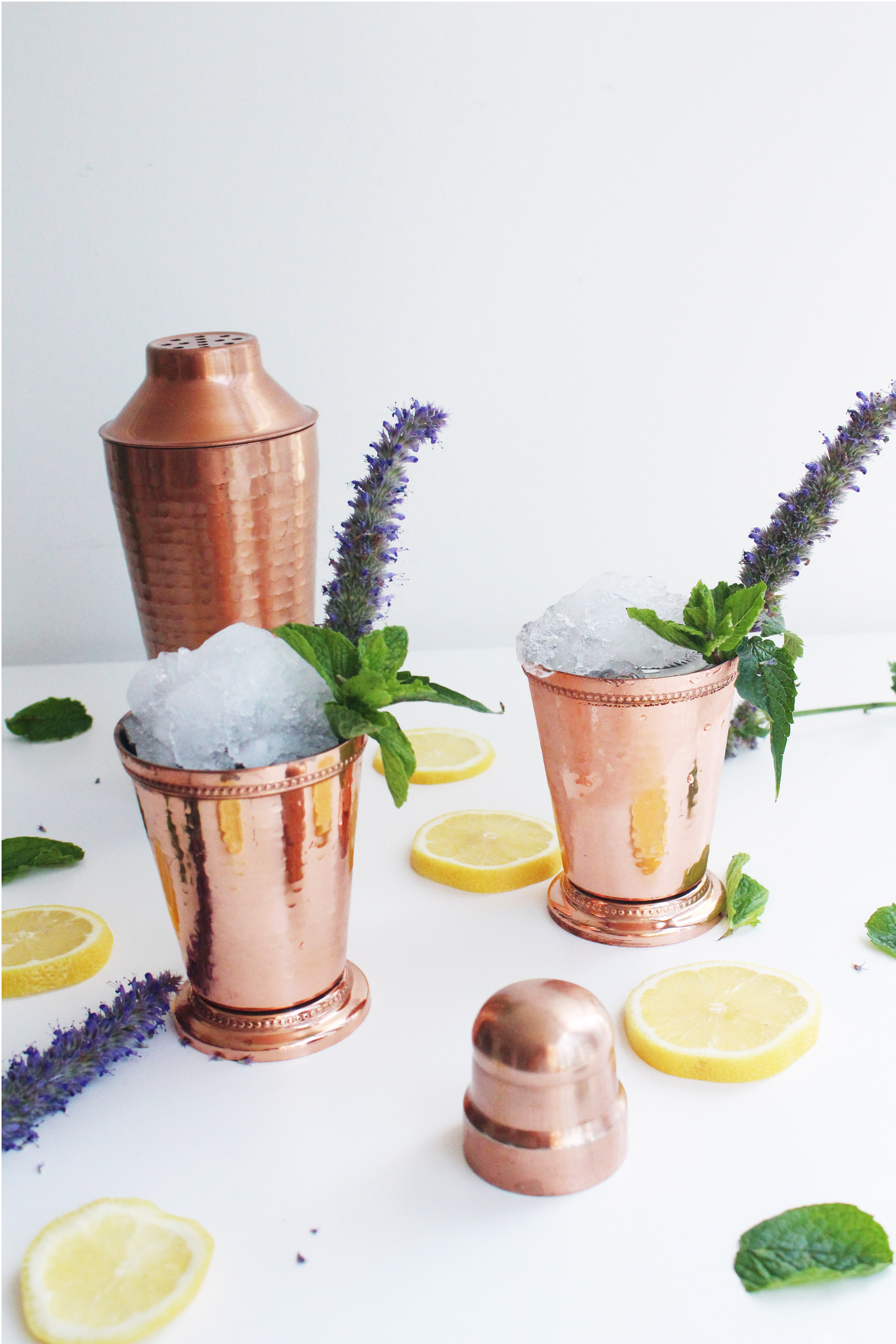 Hyssop Mint Julep - Whiskey Muse
