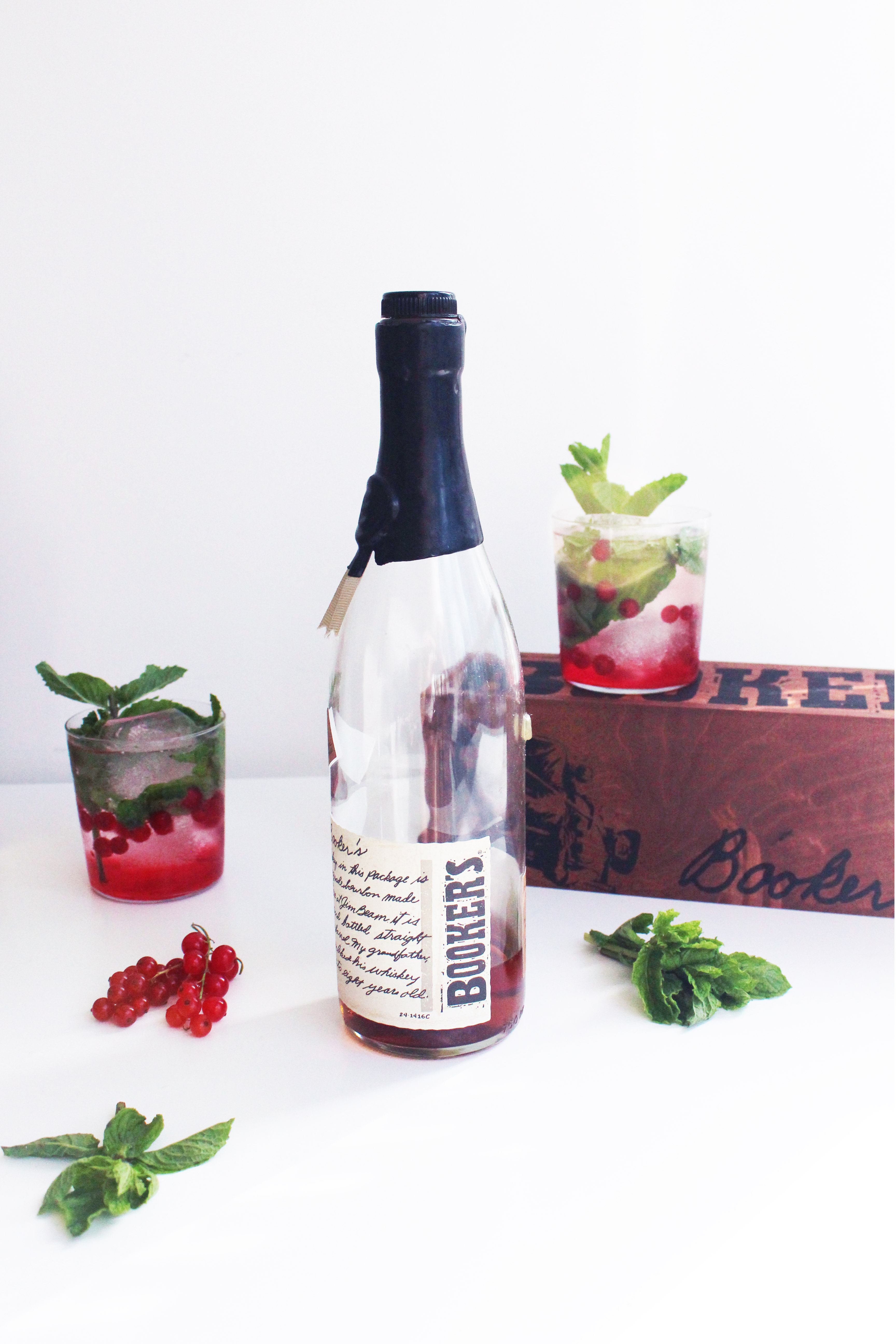 Red Currant Julep - Whiskey Muse