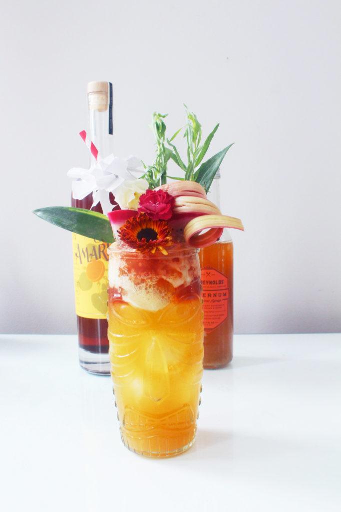 Nova Kane Tiki Cocktail - Whiskey Muse
