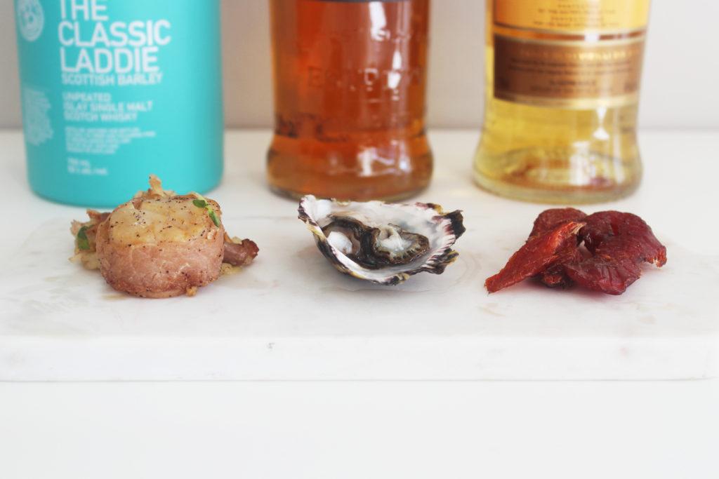 seafood + scotch - whiskey muse